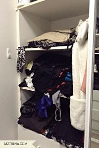 Right wardrobe (half of it)