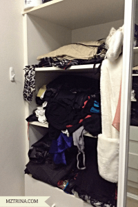 Right wardrobe (half of it)