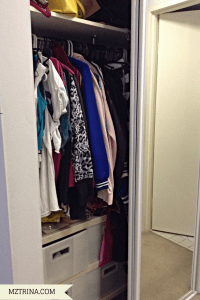 Left wardrobe (only half of it)