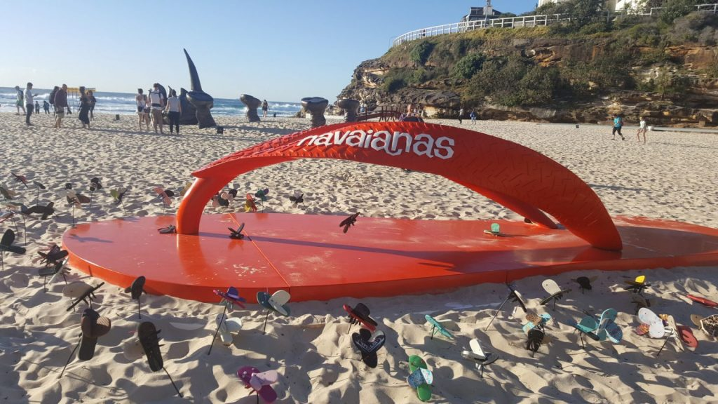 Havaianas. Sculpture by the Sea Bondi 2016. Image by mztrina.com