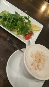 I do love my Aussie avo feta smash with my soy chai latte. Thanks Coffee Club!