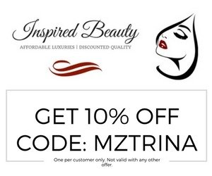 Inspired Beauty AD - MZTRINA - Get 10% off coupon code voucher