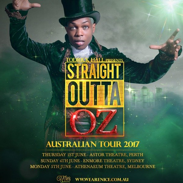 todrick hall australian tour 2017 full