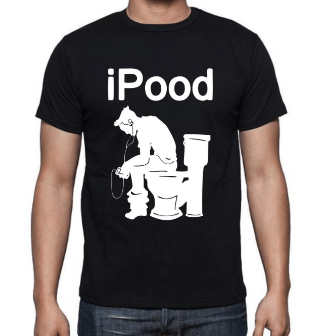 The Time I Said Yes To A Guy Wearing An iPood T-Shirt